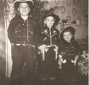 The Mundys - Tommy, Jimmy, Frank - 1954